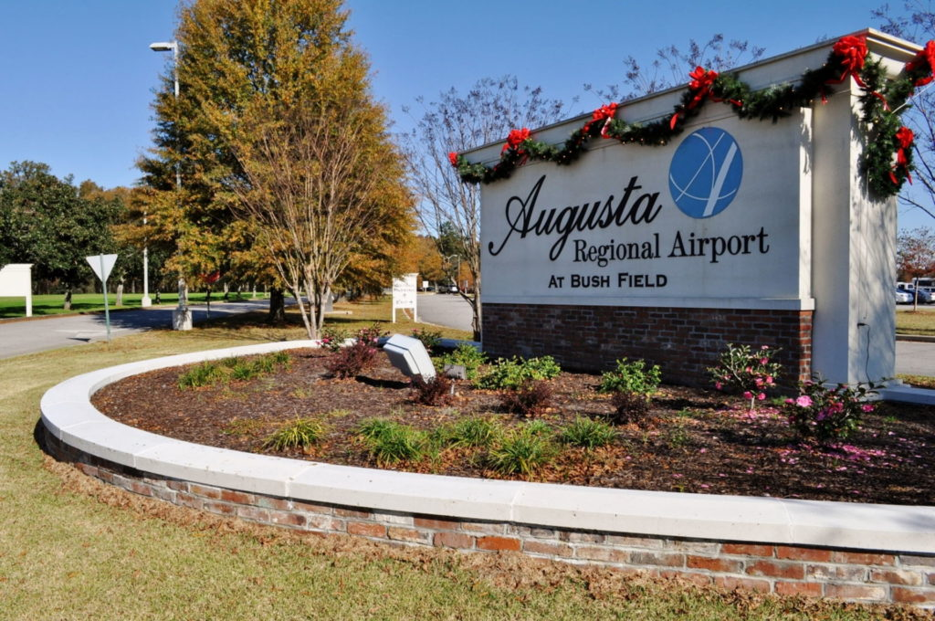 Entry Corridor Landscaping at Augusta Regional Airport 3