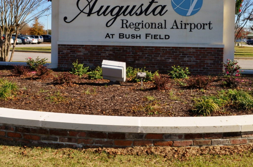 Entry Corridor Landscaping at Augusta Regional Airport 6