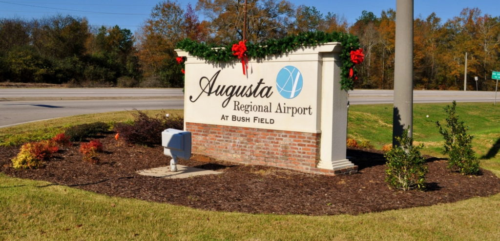 Entry Corridor Landscaping at Augusta Regional Airport 8
