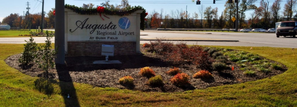 Entry Corridor Landscaping at Augusta Regional Airport 9