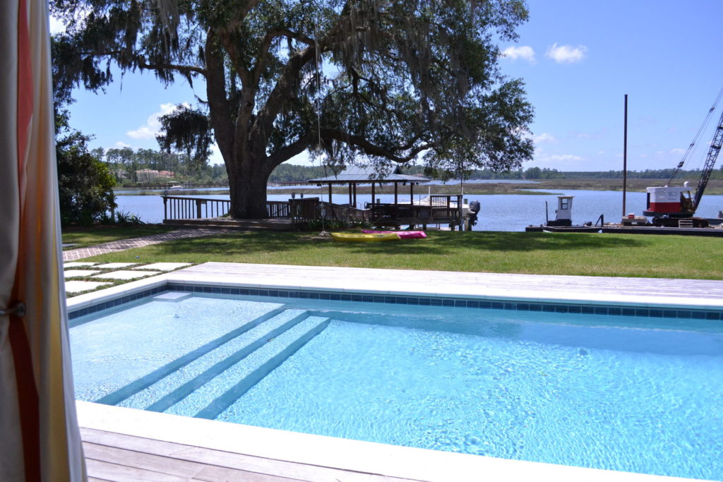 Beautiful Bluffton, SC Poolscape Designed & Built By Our Team 3