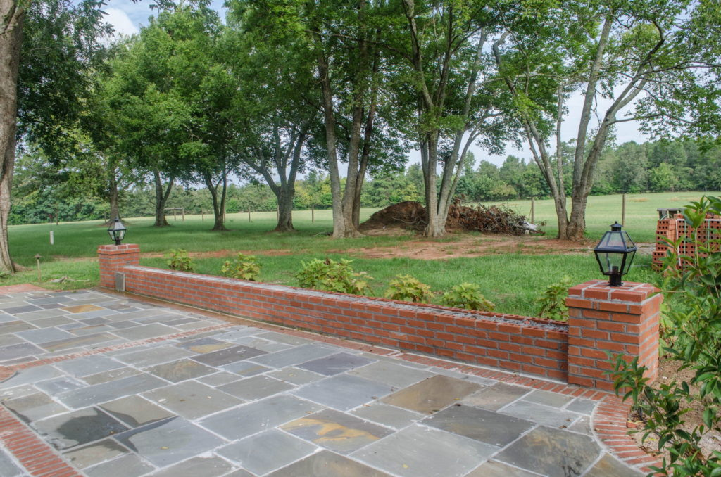 New Backyard Landscape at Historic North Augusta, SC Home 9