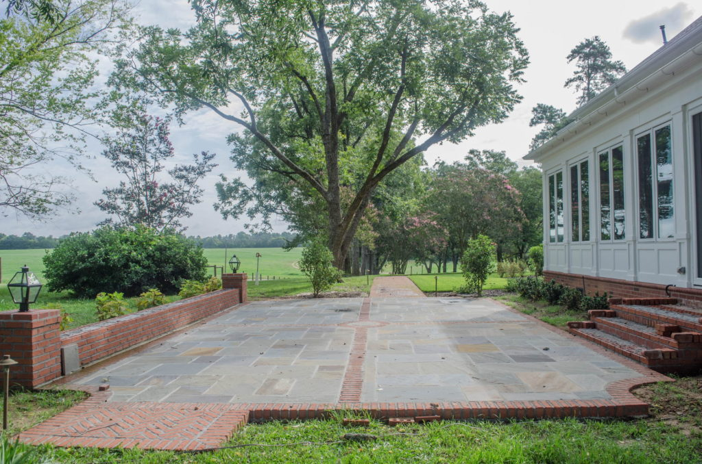 New Backyard Landscape at Historic North Augusta, SC Home 11