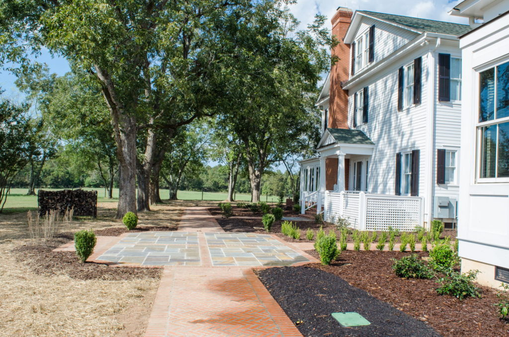 New Backyard Landscape at Historic North Augusta, SC Home 4