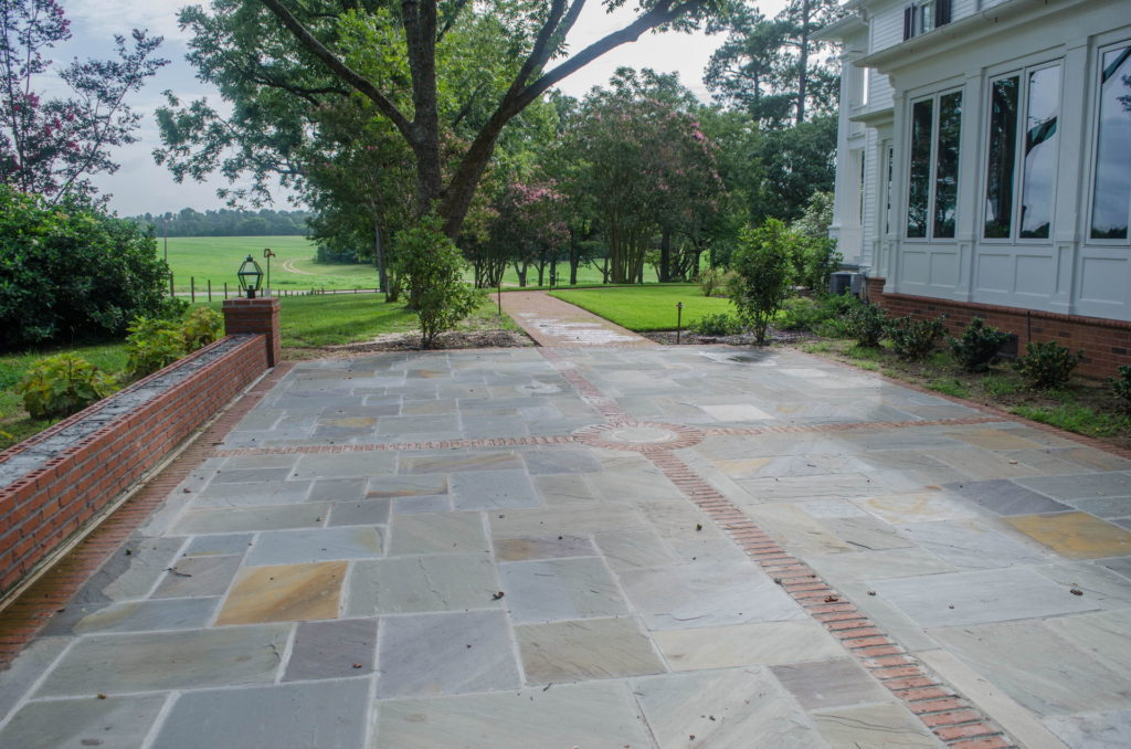 New Backyard Landscape at Historic North Augusta, SC Home 7