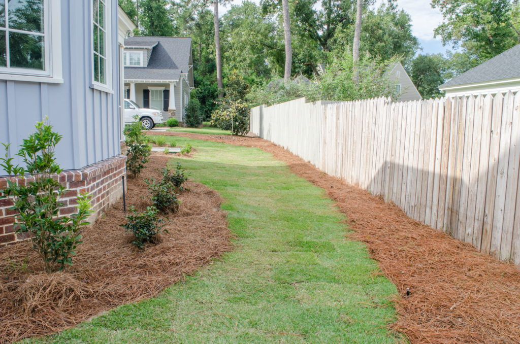 New Patio & Sod Installation at Augusta, GA Residence 4