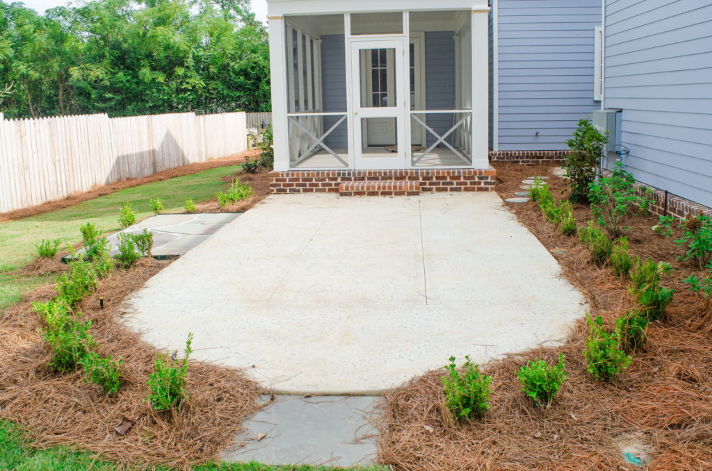 New Patio & Sod Installation at Augusta, GA Residence 6