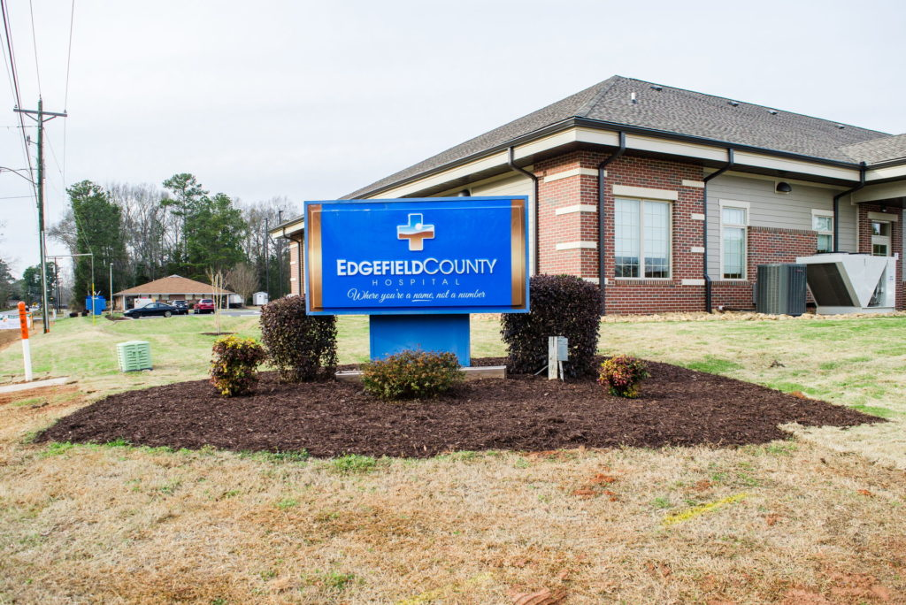 Edgefield County Hospital Grounds Landscaping & Maintenance 1