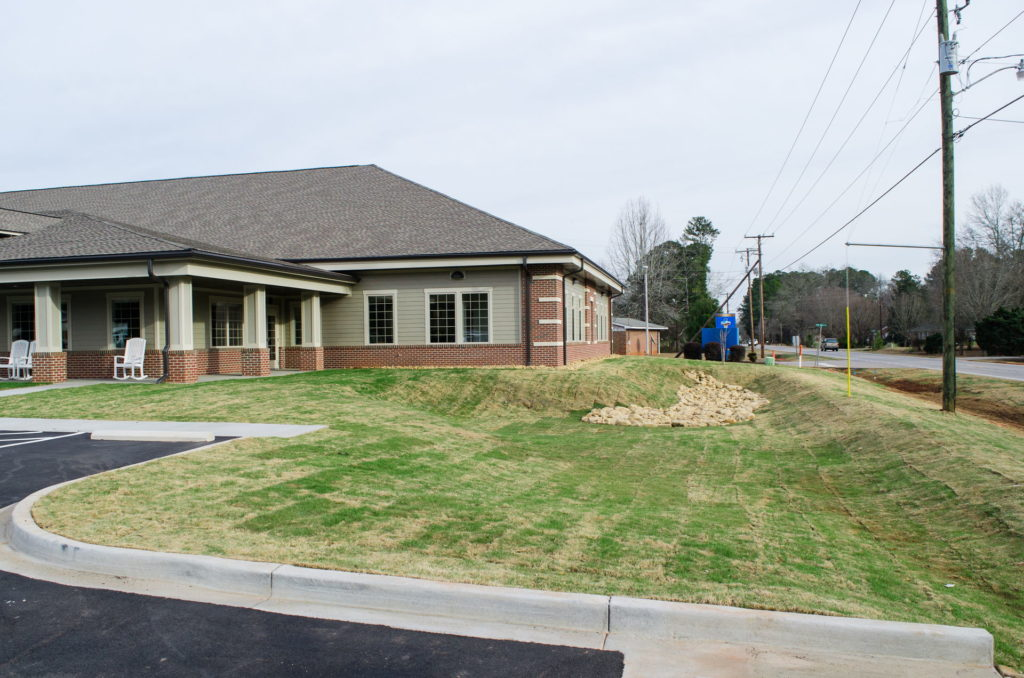 Edgefield County Hospital Grounds Landscaping & Maintenance 10