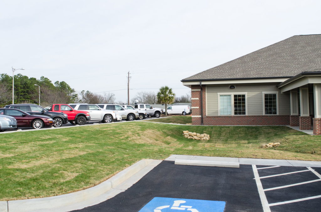 Edgefield County Hospital Grounds Landscaping & Maintenance 3
