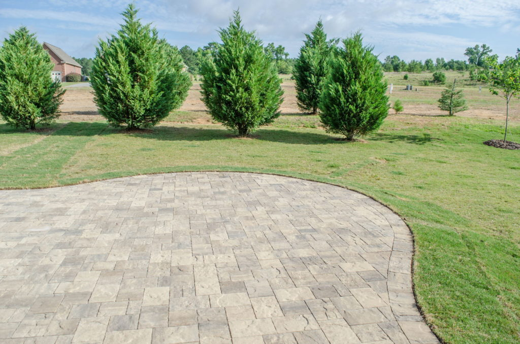 Patio & Backyard Landscape at North Augusta, SC Home 5