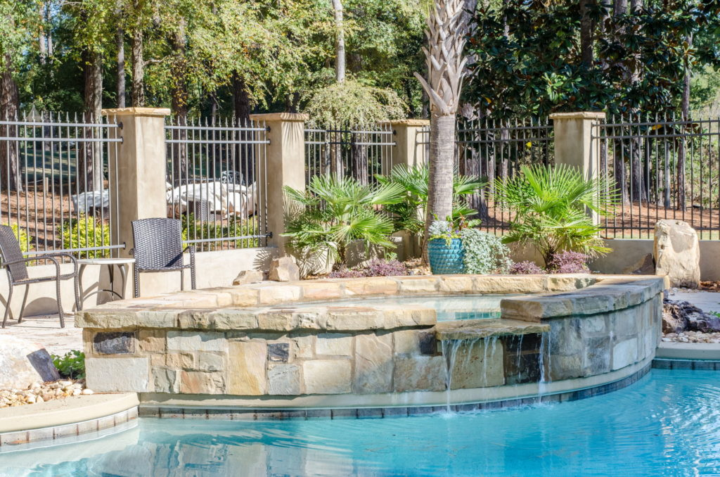 Stunning New Evans, GA Swimming Pool & Outdoor Living Space 8