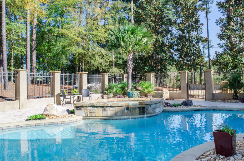 Stunning New Evans, GA Swimming Pool & Outdoor Living Space 13