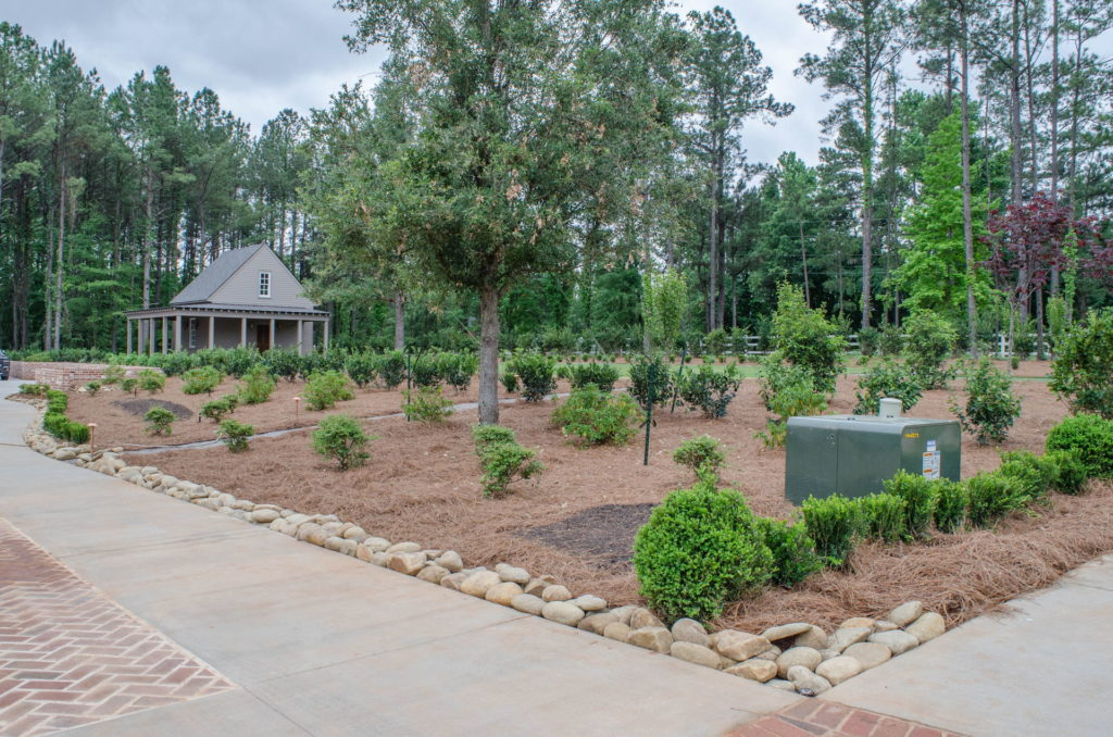 Beautiful Full Landscape Design & Installation at Evans, GA Estate 12