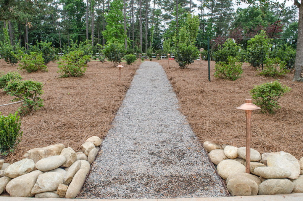 Beautiful Full Landscape Design & Installation at Evans, GA Estate 11