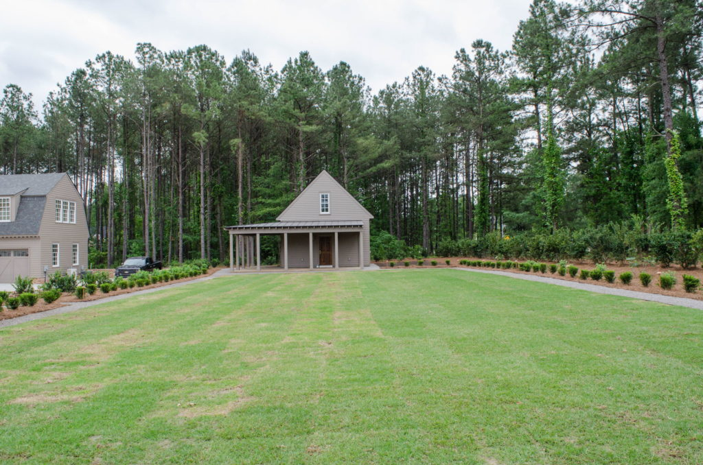 Beautiful Full Landscape Design & Installation at Evans, GA Estate 7