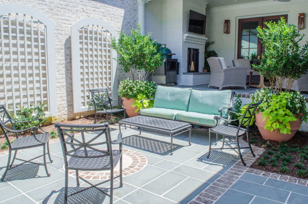 Beautiful Backyard Patio & Landscape In Augusta, GA 14