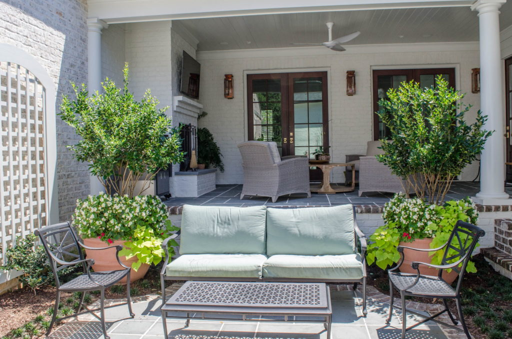 Beautiful Backyard Patio & Landscape In Augusta, GA 17