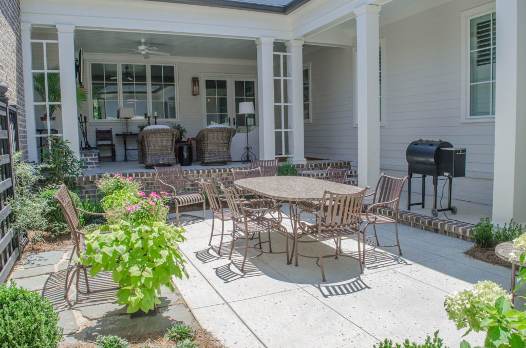 Beautiful Backyard Patio & Landscape In Augusta, GA 5
