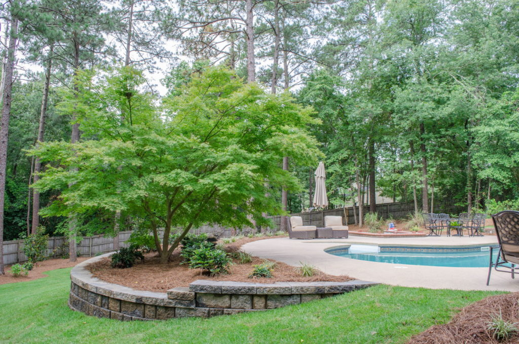 Extensive New Aiken, SC Poolscape Design & Installation 15