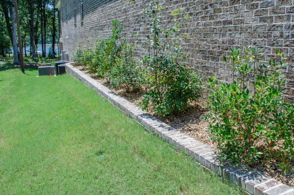 Appling, GA Flower Bed & Walkway Landscape Design 10