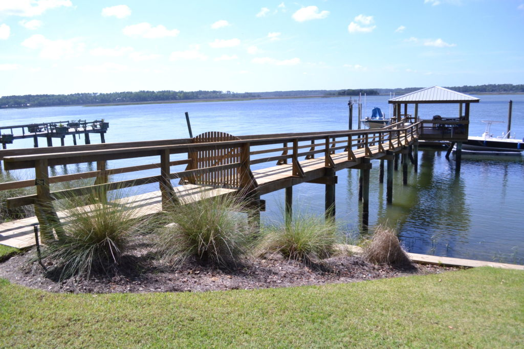 Coastal Landscape Project at Bluffton, SC Estate 8