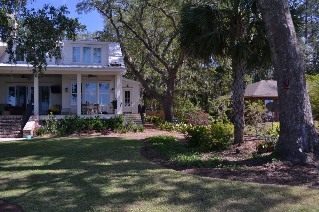 Coastal Landscape Project at Bluffton, SC Estate 6