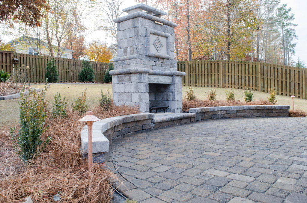 Eye-Catching Outdoor Fireplace Installation in Augusta, GA 3