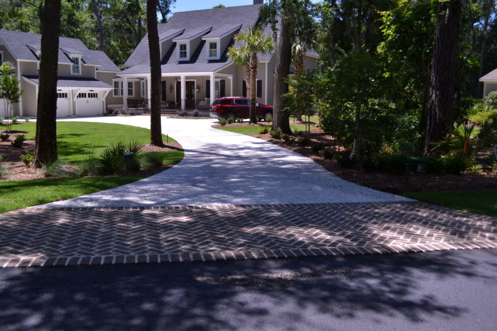 Luscious Landscaping at Stunning New Bluffton, SC Home 1