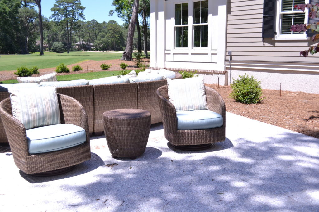Luscious Landscaping at Stunning New Bluffton, SC Home 3