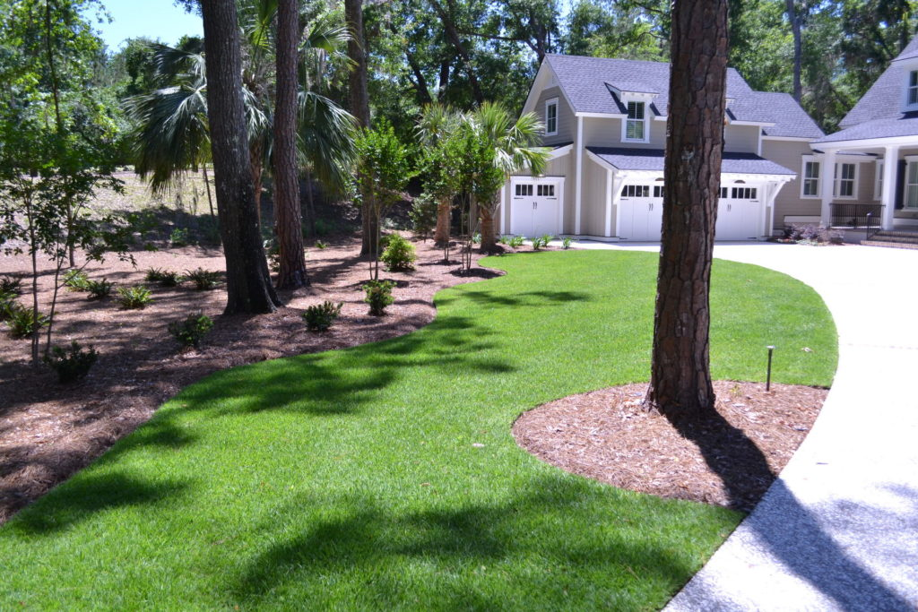 Luscious Landscaping at Stunning New Bluffton, SC Home 14