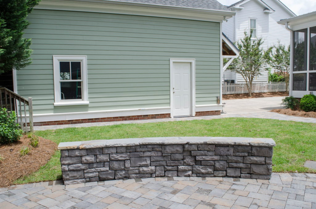 North Augusta, SC Stone Pathways, Patio, and Outdoor Fireplace 3