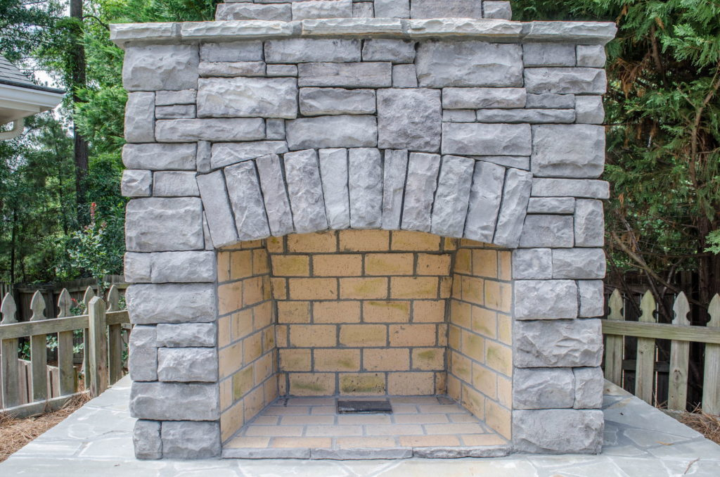 North Augusta, SC Stone Pathways, Patio, and Outdoor Fireplace 8
