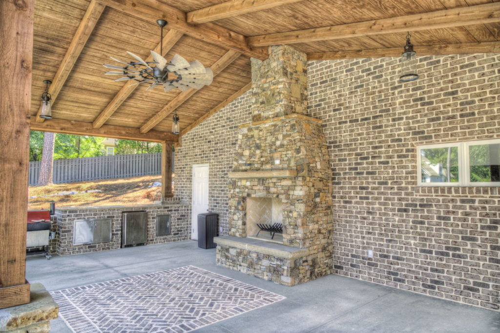 Incredible Evans, GA Poolscape and Outdoor Living Space 1