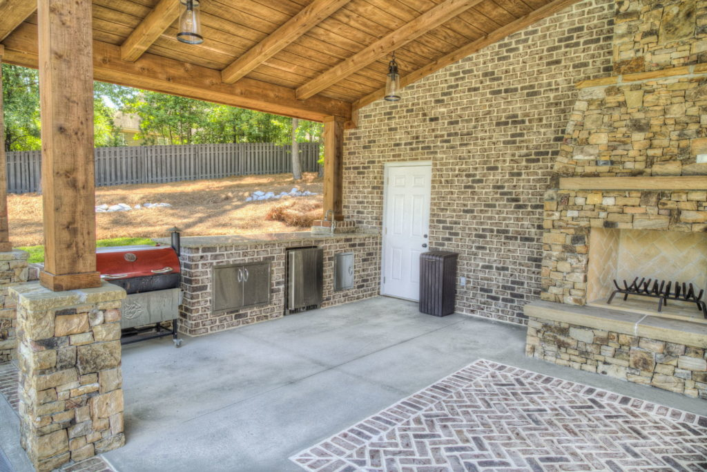 Incredible Evans, GA Poolscape and Outdoor Living Space 2