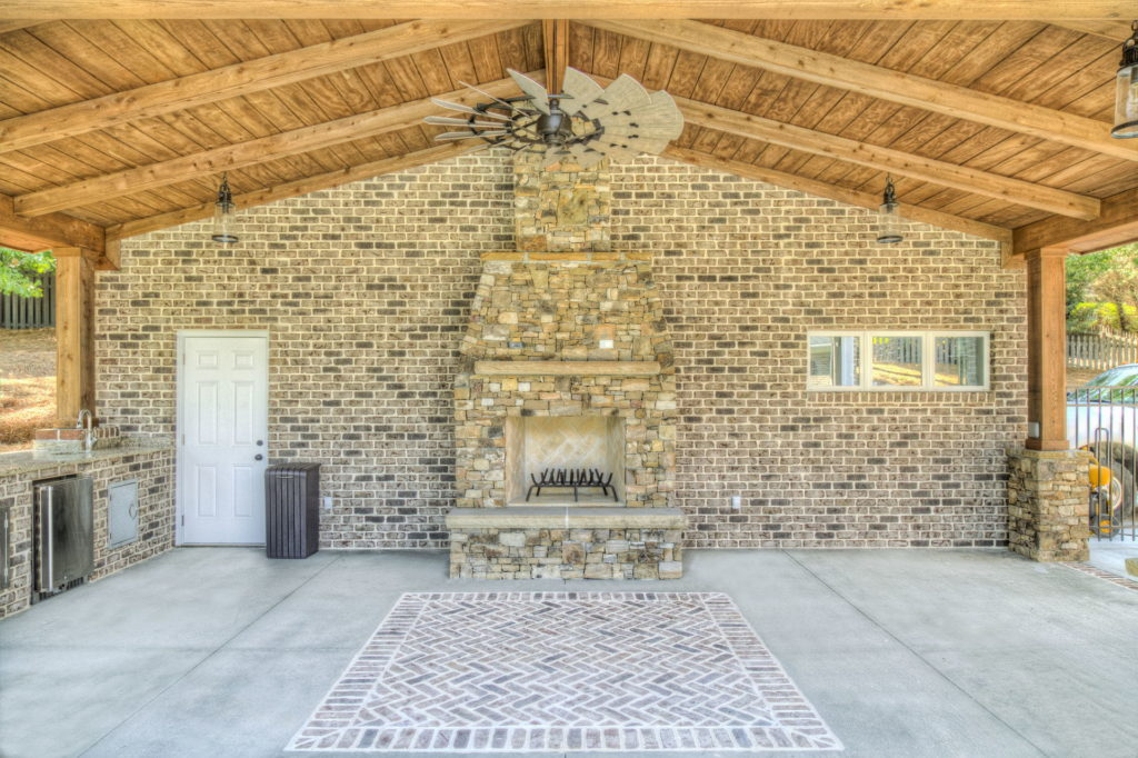 Incredible Evans, GA Poolscape and Outdoor Living Space 3