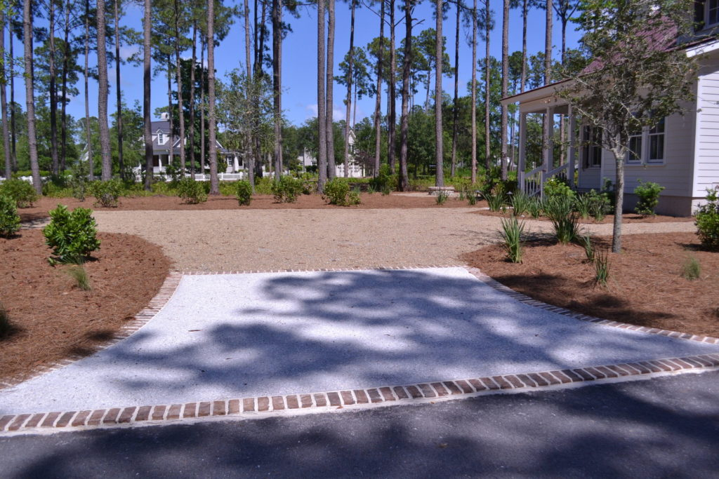 Bluffton, SC Cottage Driveway and Full Yard Landscape 8