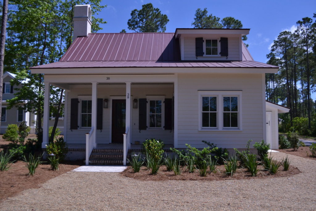 Bluffton, SC Cottage Driveway and Full Yard Landscape 6