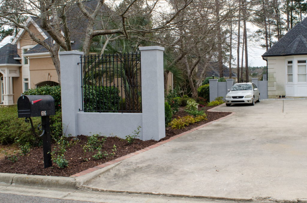 Beautifully Landscaped Grounds at This Martinez, GA Gated Mansion 1