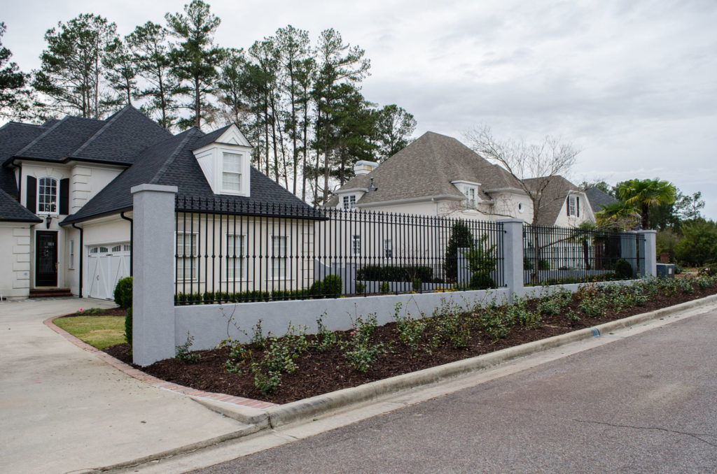 Beautifully Landscaped Grounds at This Martinez, GA Gated Mansion 18