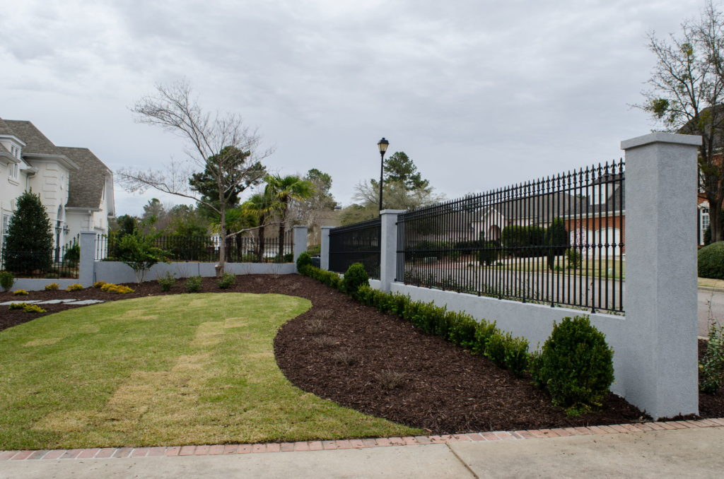 Beautifully Landscaped Grounds at This Martinez, GA Gated Mansion 3