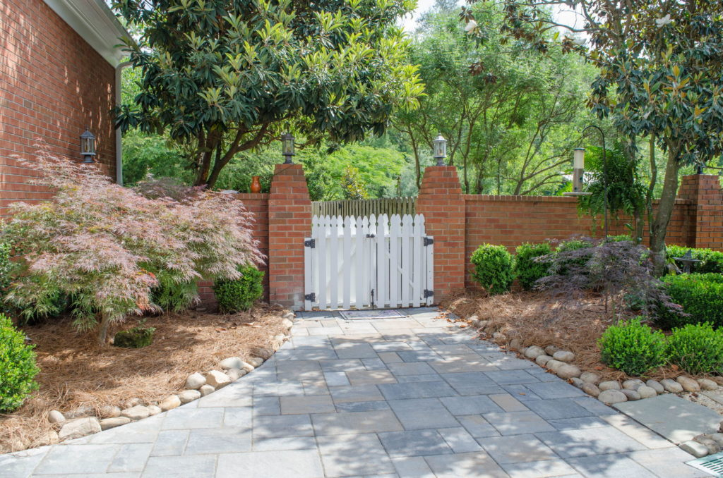 Incredible Augusta, GA Backyard Flower Garden, Fountain, and Patio 2