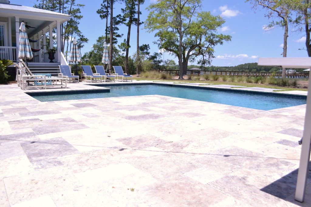 Gorgeous Poolscape and Outdoor Kitchen in Bluffton, SC 13
