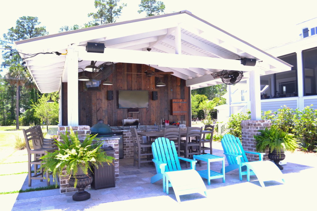 Gorgeous Poolscape and Outdoor Kitchen in Bluffton, SC 6