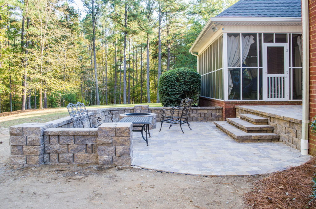 Outdoor Patio & Fire Pit Area at Augusta, GA Home 1