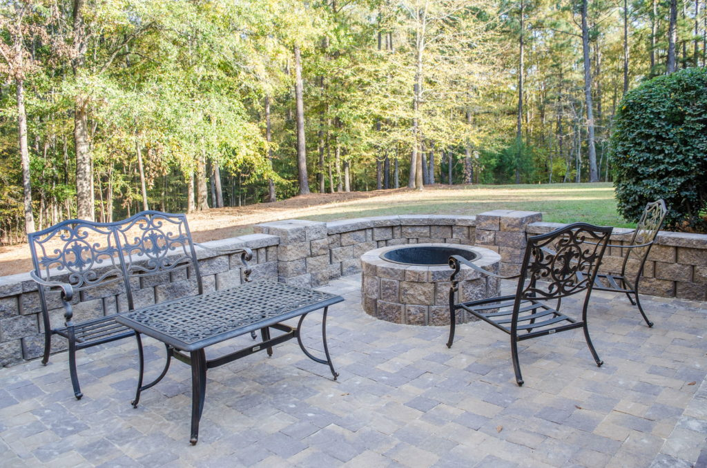 Outdoor Patio & Fire Pit Area at Augusta, GA Home 2