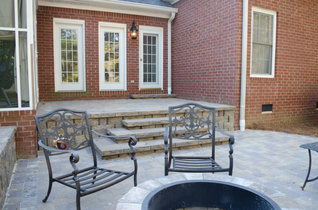 Outdoor Patio & Fire Pit Area at Augusta, GA Home 3