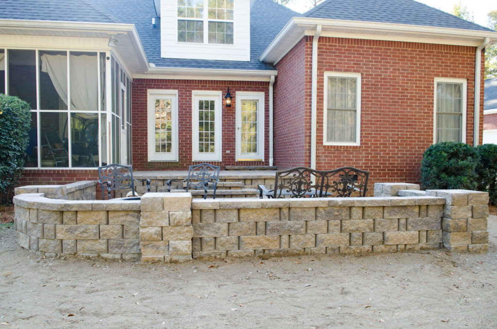 Outdoor Patio & Fire Pit Area at Augusta, GA Home 6
