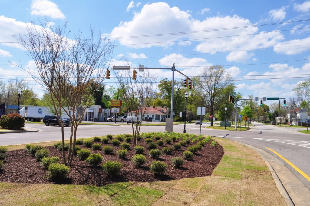 Streetscape & Planting Design Project Along Sand Bar Ferry Road 19