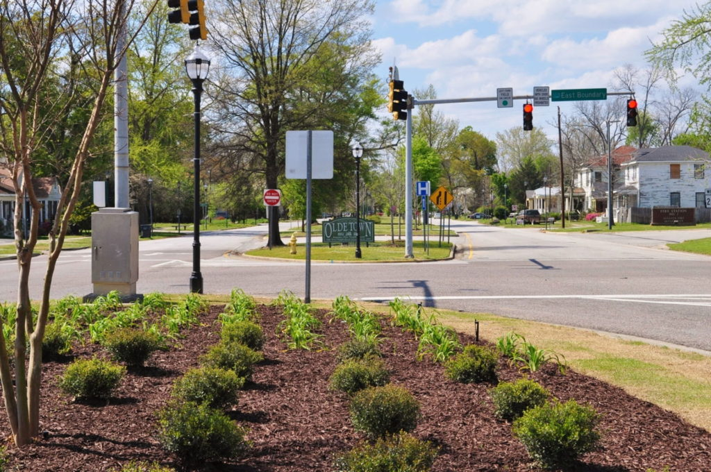 Streetscape & Planting Design Project Along Sand Bar Ferry Road 20